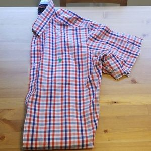 NWOT SS Polo collared shirt XL